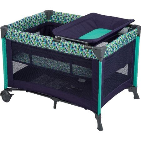Portable baby playpen- Babideal Blossom II Playard, Belize.