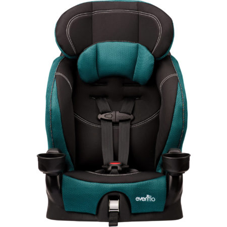 Best Booster Seat- Evenflo Chase Harnessed Booster Seat, Jubilee.