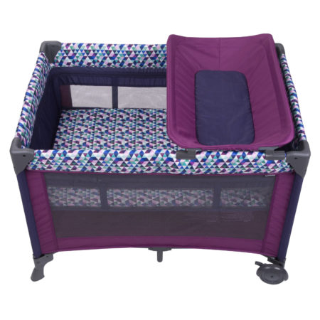 Luxury Pack N Play- Babideal Blossom II Playard with Bassinet, Alexa.