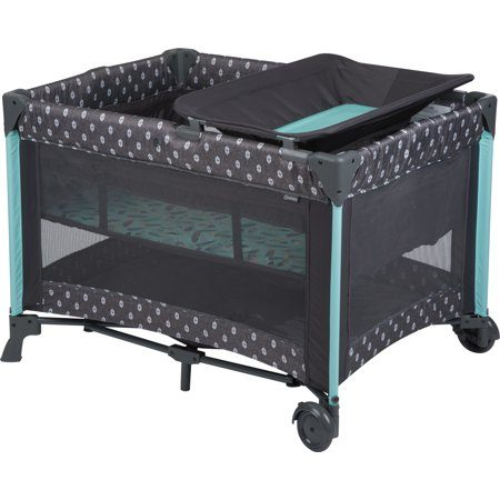 Best baby playpen- Babideal Blossom II Playard, Feather Boho.