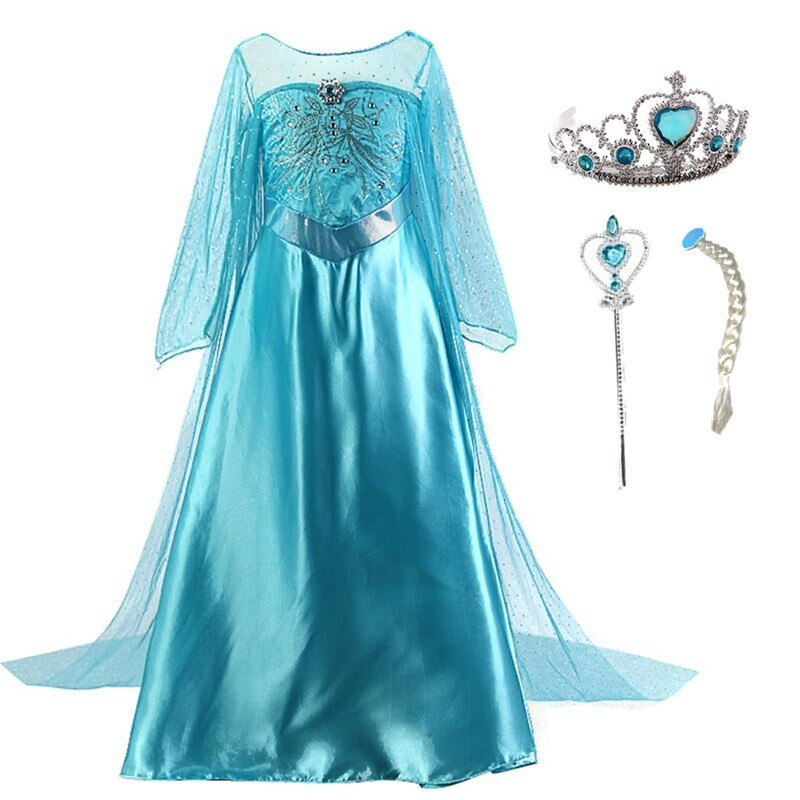 Elsa Halloween Costumes For Kids.Elsa And Anna Halloween Costumes Cheap Online