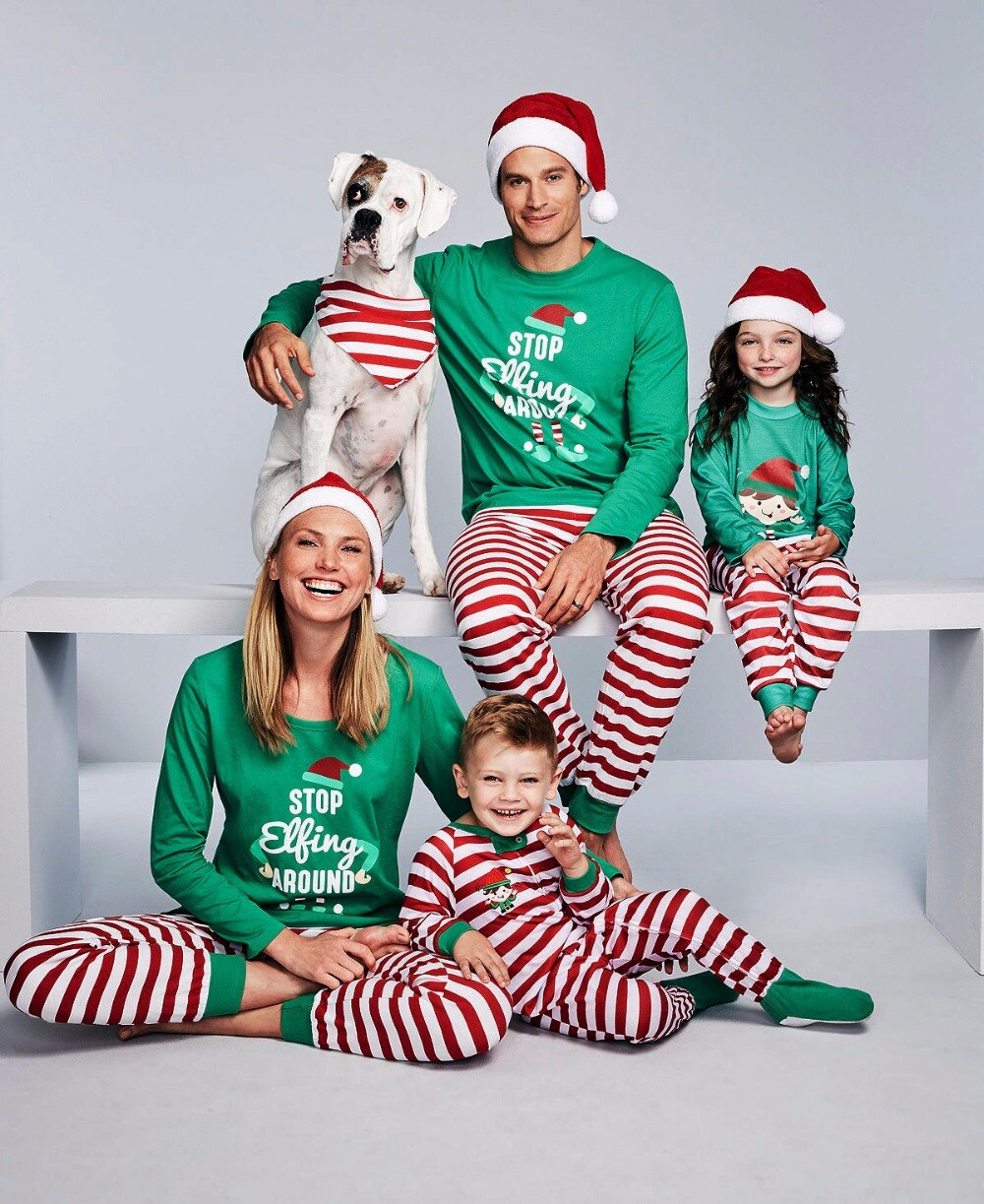 Matching Christmas Outfits For The Whole Family- Family Matching