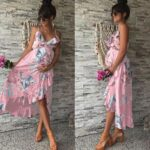 Maternity-Dresses-Maternity-Clothes-Elegant-Pregnancy-Dress-Casual-Floral-Printed-Ruffles-Falbala-Sundress-For-Pregnant-Women