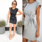 2020 Popular Pure Color Tie-in Waist Pregnant Women's Dress Soft And Comfortable Cotton Spot Vestidos Gestante Pregnancy Dress